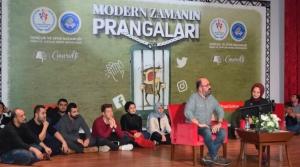 'Modern Zamanın Prangaları'na Hatay'da Yoğun İlgi