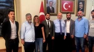 Osmanlı Turan Ocakları'ndan Başkana Ziyaret