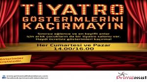 Primemall İskenderun Ücretsiz Çocuk Tiyatrosu Perdelerini Açtı!
