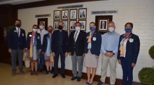 Rotary Guvernörü Antalyalı'dan İTSO'ya Ziyaret