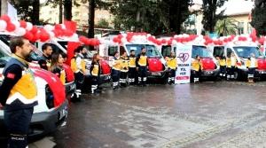 Sağlık Bakanlığından Hataya 6 Ambulans