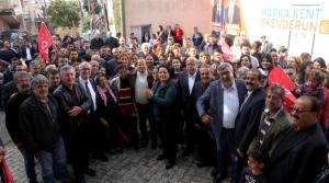 Şahutoğlu; 'İskenderun Belediyesine 31 Mart'ta Sizlerin Desteğiyle CHP Sancağını Dikeceğiz'