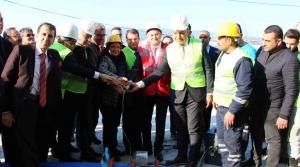 Samandağ'da Dev İçme Suyu Projesinin Temeli Atıldı