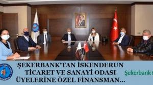Şekerbank'tan İTSO Üyelerine Özel Finansman