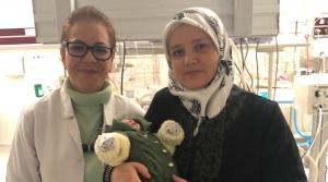 Suriyeli Bebek, Gelişim'de Sağlığına Kavuştu