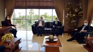 TÜGEM ve ABİGEM Yetkililerinden İTSO'ya Ziyaret