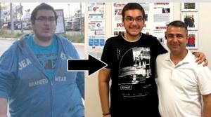 Üniversite Öğrencisi 200 Kilodan 100 Kiloya Düştü