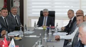 Vali Doğan Başkanlığında Koordinasyon Toplantısı Yapıldı