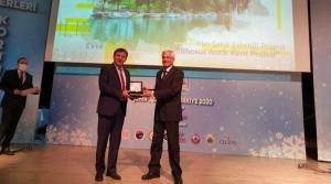 'Yılın Şehir Estetiği Projesi' Ödülü Arsuz'un