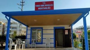 Yunus Emre Muhtarlık Binası Yenilendi