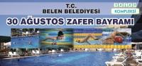Belen'de Zafer Bayramı Yüzme Yarışması