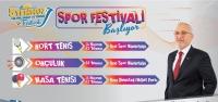 '5 Temmuz Spor Festivali Başlıyor'