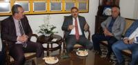 AK Parti Hatay İl Başkanı Güler'den İGC'ye Ziyaret