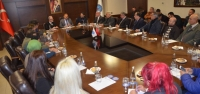 Ak Parti HBB Adayı Güler'den İTSO Ziyareti
