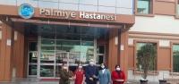 Ak Parti Kadın Kolları'ndan Palmiye 'ye Ziyaret