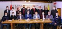 Akdeniz Gazeteciler Federasyonunda Bayrak Değişimi