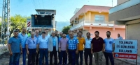 Arsuz Belediyesi Karaağaç'ta Asfalt Çalışmalarına Başladı