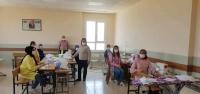 Arsuz Halk Eğitim Merkezi Maske Üretiyor