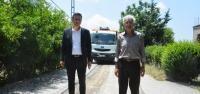 Arsuz'da Asfalt Çalışmaları Tam Gaz