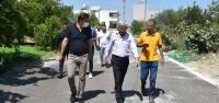 Arsuz'da Yol Yapım Çalışmaları Sürüyor