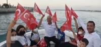 Arsuz'da 'Zafer Bayramı Tekne Korteji'