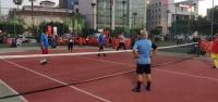 Ayak Tenisi Turnuvası Başladı