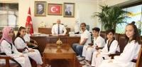 Başarılı Taekwondocular Başkan Tosyalı'yı Ziyaret Etti