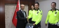Başarılı Trafik Polislerine Ödül