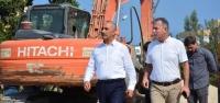Başkan Culha, 'Altyapı' Çalışmalarını Yerinde İnceledi