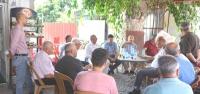 Başkan Culha, Nardüzü Esnafıyla Bir Araya Geldi