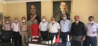 Başkan Güven'den, Ak Parti ve İyi Parti'ye Ziyaret