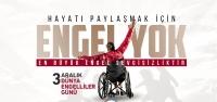 Başkan Savaş'ın Dünya Engelliler Günü Mesajı