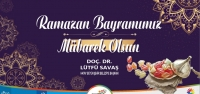 Başkan Savaş'tan Ramazan Bayramı Mesajı