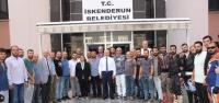 Başkan Tosyalı Motosiklet Tutkunlarını Ağırladı