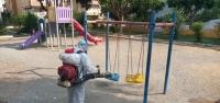 Başkan Tosyalı; 'Parklarımız Düzenli Olarak Dezenfekte Ediliyor'