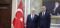 Başkan Tosyalı'dan Kaymakam Sarı'ya Ziyaret