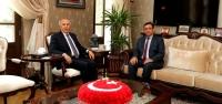 Başsavcı Öztürk'den Vali Ata'ya Ziyaret
