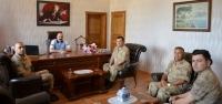 Belen Jandarma'dan Kaymakam Baskın'a Ziyaret