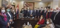 CHP Genel Başkan Yardımcısı Seyit Torun Arsuz'da