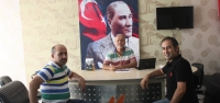CHP Meclis Üyesi Bülent Şimşek'ten Mega'ya Ziyaret