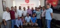 Eczacı Teknisyenleri MHP'yi Ziyaret Etti!