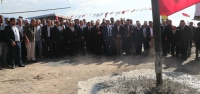 Erzin OSB için ilk Kazma Vuruldu