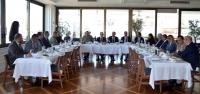 Eski Kaymakam Soytürk'ten İTSO'ya Veda Ziyareti