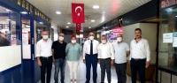 Gazeteci Dostlarından Başkan Fırat'a Ziyaret