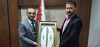 Gökhan Zeybek'ten Emniyet Müdürü Güneş'e Ziyaret