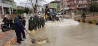 HATSU'dan Şiddetli Yağışla Gelen Olumsuzluklara Hızlı Müdahale