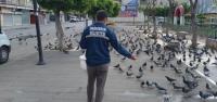 İskenderun Belediyesi Kuşları Unutmuyor