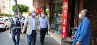 İskenderun Belediyesi Maske Denetimi Yaptı