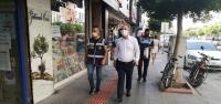 İskenderun Belediyesi Maske Denetimlerini Sürdürüyor