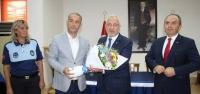 İskenderun Zabıtası Başkan Tosyalı'yı Ziyaret Etti